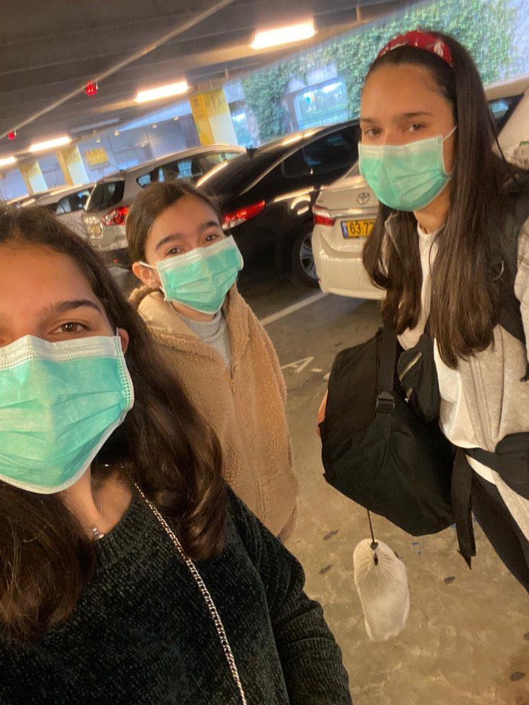 שלושת בנותי בימים של קורונה